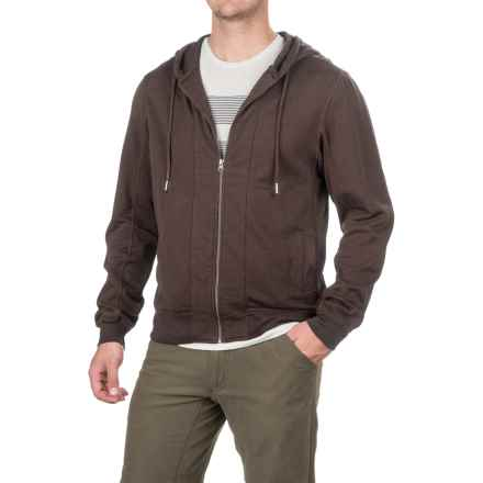 Gramicci Funday Hoodie - Organic Cotton (For Men) in Coffee Brown - Closeouts