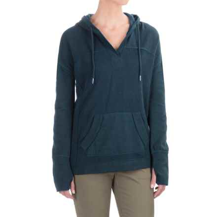 Gramicci Funday Hoodie - Organic Cotton (For Women) in Denim Blue - Closeouts