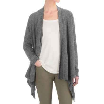 Gramicci Funday Wrap Cardigan Sweater - Organic Cotton (For Women) in Mid Grey - Closeouts