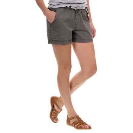 Gramicci G Shorty Shorts - UPF 50+ (For Women) in Asphalt Grey - Closeouts