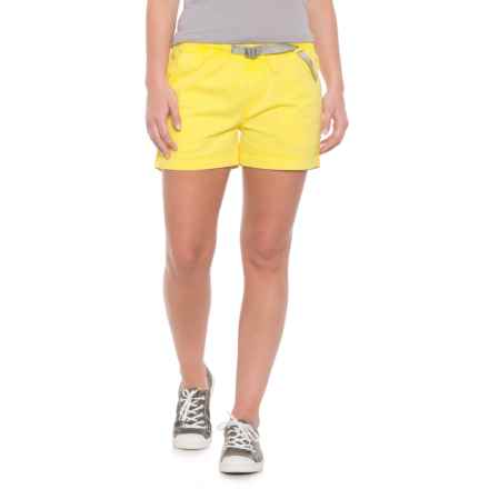 Gramicci G Shorty Shorts - UPF 50+ (For Women) in Blazing Yellow - Closeouts