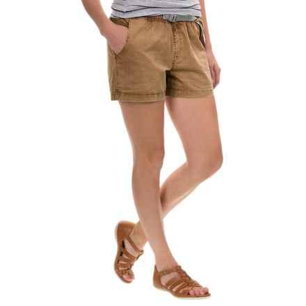Gramicci G Shorty Shorts - UPF 50+ (For Women) in Caramel Tan - Closeouts