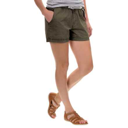 Gramicci G Shorty Shorts - UPF 50+ (For Women) in Olive Stone - Closeouts