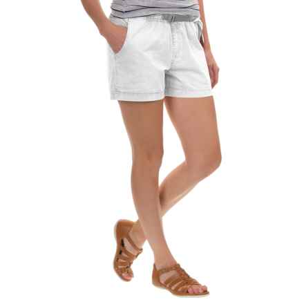 Gramicci G Shorty Shorts - UPF 50+ (For Women) in White - Closeouts