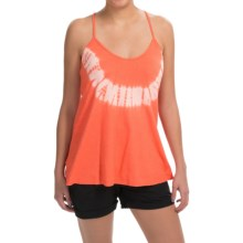 Gramicci Gia Tie-Dye Tank Top - Hemp-Organic Cotton, Racerback (For Women) in Deep Coral - Closeouts