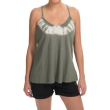 Gramicci Gia Tie-Dye Tank Top - Hemp-Organic Cotton, Racerback (For Women) in Thyme - Closeouts
