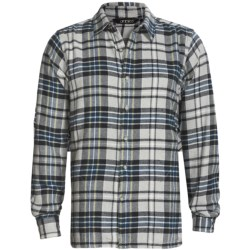Gramicci Glenwood Plaid Shirt - Long Sleeve (For Men) in Midnight Axis
