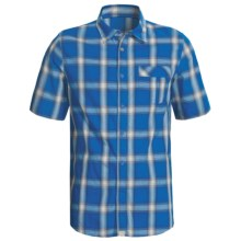 Gramicci Granite Shirt - Short Sleeve (For Men) in Impirial Blue - Closeouts
