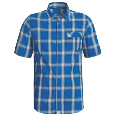 Gramicci Granite Shirt - Short Sleeve (For Men) in Impirial Blue