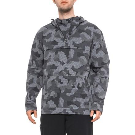 c67779baa9831 Gramicci Grey Honeycomb Camo Buttermilks Climbing Printed Jacket - Zip Neck  (For Men) in