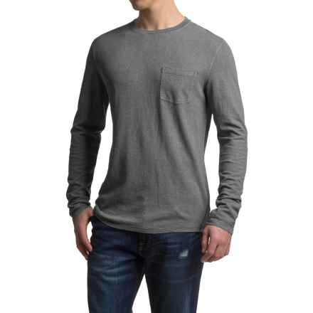 Gramicci Hemp-Organic Cotton Shirt - Crew Neck, Long Sleeve (For Men) in Asphalt Grey - Closeouts