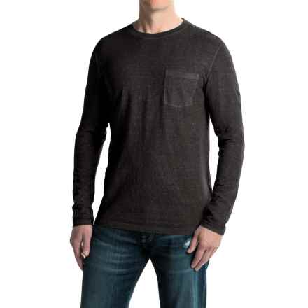 Gramicci Hemp-Organic Cotton Shirt - Crew Neck, Long Sleeve (For Men) in Black - Closeouts