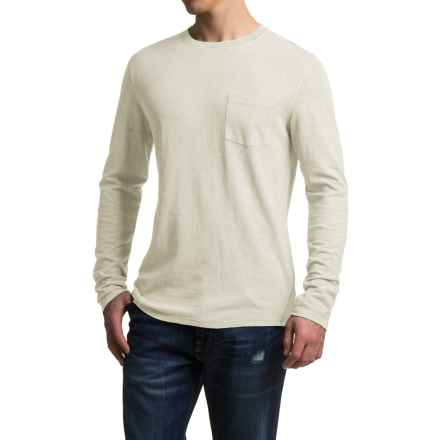 Gramicci Hemp-Organic Cotton Shirt - Crew Neck, Long Sleeve (For Men) in Natural - Closeouts