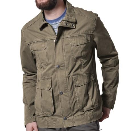 Gramicci High Trail Jacket (For Men) in Barracks Green