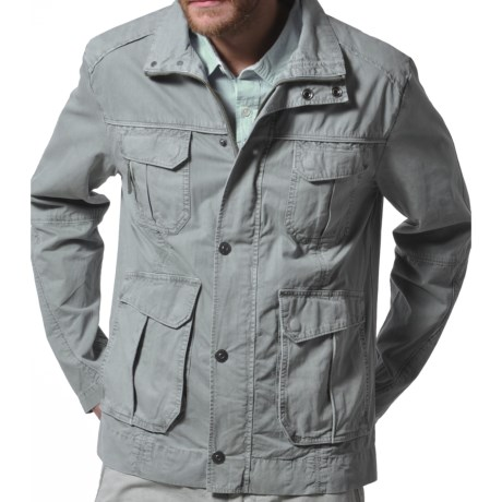 Gramicci High Trail Jacket (For Men) in J Grey