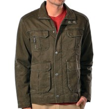 Gramicci High Trail Jacket - UPF 20, Felt Canvas (For Men) in Fatigue Green - Closeouts