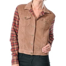 Gramicci Holly Corduroy Jean Jacket (For Women) in Woody Brown - Closeouts
