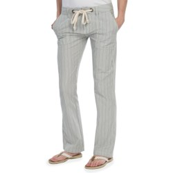 Gramicci Impanema Bali Pants - Cotton (For Women) in Classic Blue