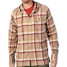 Gramicci Imperial Plaid Shirt Jacket - Attached Hood (For Men) in Ox Red - Closeouts