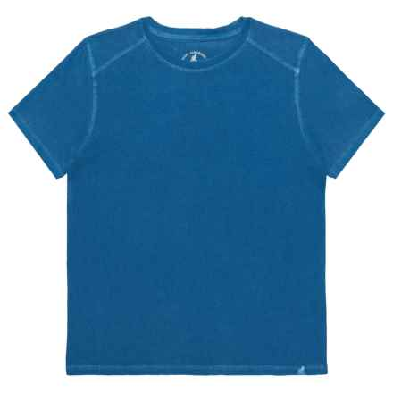 Gramicci Jackson T-Shirt - Organic Cotton, Short Sleeve (For Boys) in Classic Blue - Closeouts