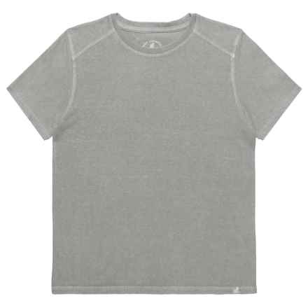 Gramicci Jackson T-Shirt - Organic Cotton, Short Sleeve (For Boys) in Fog Grey - Closeouts