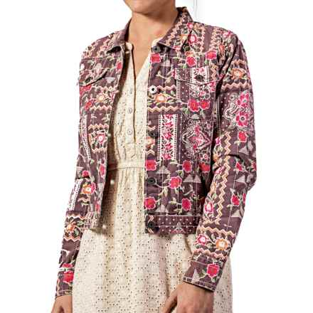 Gramicci Jamie Jacket (For Women) in Coco Brown - Closeouts