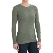 Gramicci Jenni T-Shirt - UPF 50, Hemp-Organic Cotton, Long Sleeve (For Women) in Thyme - Closeouts