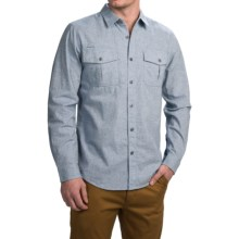 Gramicci Joe Canvas Work Shirt - Long Sleeve (For Men) in Sky - Closeouts