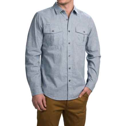 Gramicci Joe Canvas Work Shirt - Long Sleeve (For Men) in Sky - Closeouts