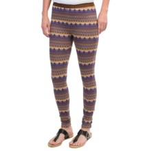 Gramicci Katrine Leggings - Midweight (For Women) in Infinite Violet - Closeouts