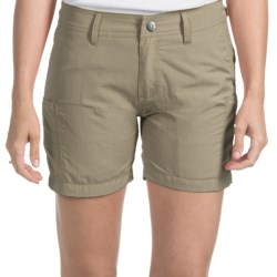 Gramicci Kayaker Rocket Dry Shorts - UPF 30 (For Women) in Green Clay