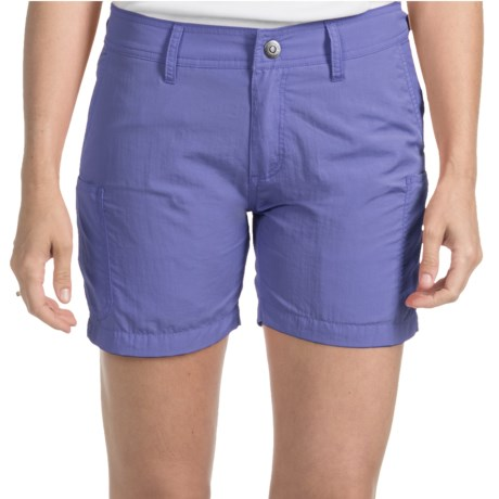 Gramicci Kayaker Rocket Dry Shorts - UPF 30 (For Women) in Periwinnkle