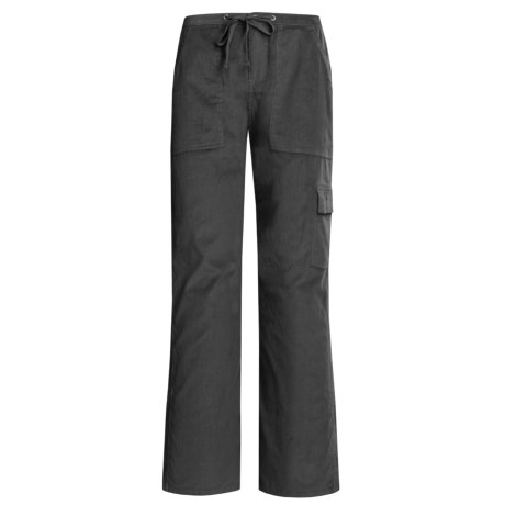 Gramicci Keyask Island Pants - Corduroy (For Women) in Black