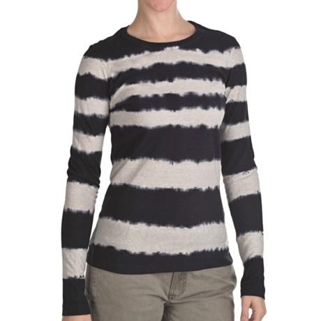 Gramicci Kriza Tie-Dye T-Shirt - Long Sleeve (For Women) in Moonless Night
