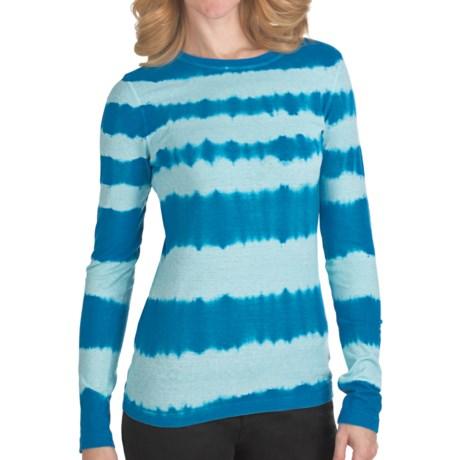 Gramicci Kriza Tie-Dye T-Shirt - Long Sleeve (For Women) in Turkish Tile
