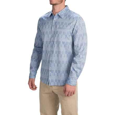 Gramicci Ladder Shirt - Long Sleeve (For Men) in Indigo Blue - Closeouts