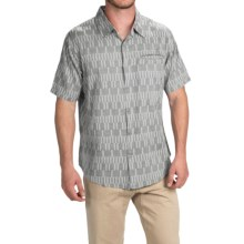 Gramicci Ladder Shirt - Slim Fit, Short Sleeve (For Men) in Dusty Olive - Closeouts