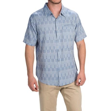 Gramicci Ladder Shirt Slim Fit, Short Sleeve (For Men)