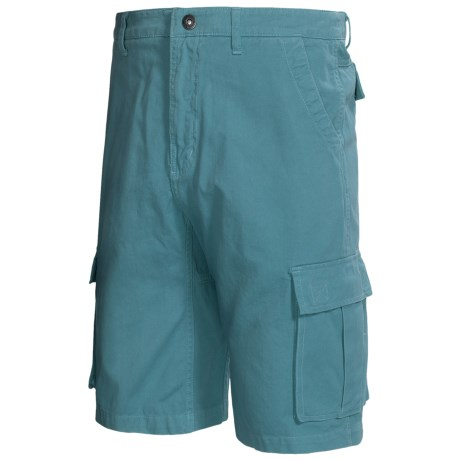 Gramicci Legion Dourada Cargo Shorts - UPF 50, Cotton (For Men) in Light Turquoise