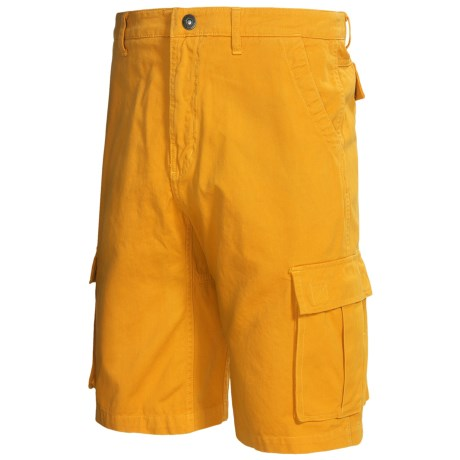 Gramicci Legion Dourada Cargo Shorts - UPF 50, Cotton (For Men) in Sun Yellow