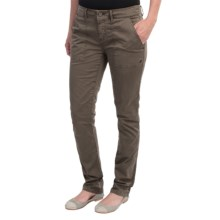 Gramicci Lena Pants - Orphia Stretch Twill (For Women) in Pewter Grey - Closeouts
