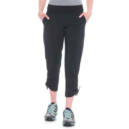 Gramicci Lite Flight Capris (For Women) in Ebony - Closeouts