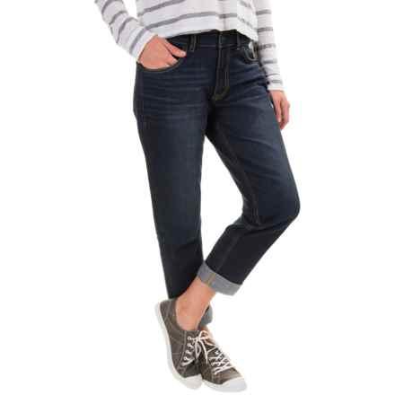 Gramicci Live Free Boyfriend Jeans (For Women) in Patriot Blue Wash - Closeouts