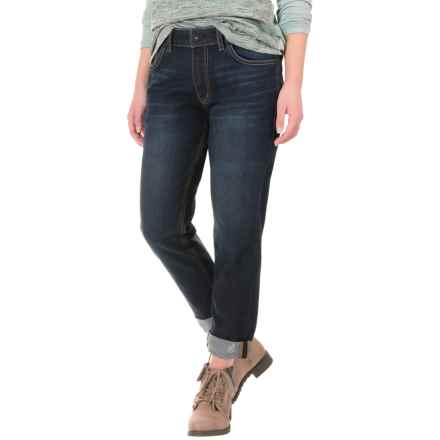 Gramicci Live Free Boyfriend Jeans (For Women) in Patriot Wash - Closeouts
