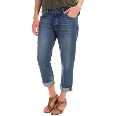 Gramicci Live Free Boyfriend Jeans (For Women) in Vintage Wash - Closeouts