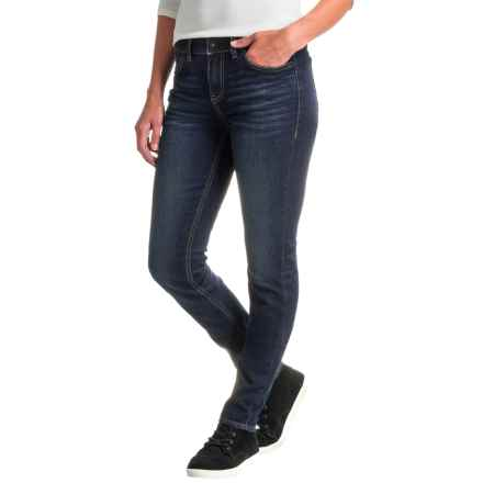 Gramicci Live Free Skinny Jeans (For Women) in Patriot Blue Wash - Closeouts