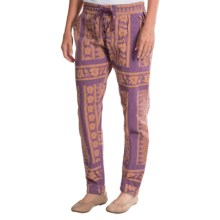Gramicci Lorena Pants - Quilted Cloth (For Women) in Syrah - Closeouts