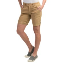Gramicci Lotti Shorts - Linen-Cotton (For Women) in Sand - Closeouts