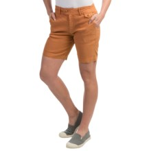 Gramicci Lotti Shorts - Linen-Cotton (For Women) in Terracota - Closeouts