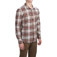Gramicci Madras Shirt - Long Sleeve (For Men) in Antelope - Closeouts